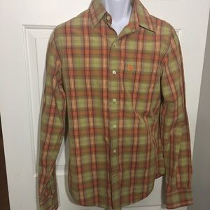 Abercrombie and Fitch Plaid Muscle Shirt Size M